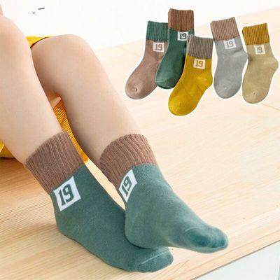 春秋冬儿童袜子保暖舒适孩子男女童小中大童学生宝宝中筒袜子
