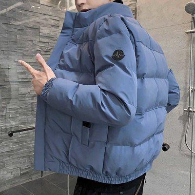 【富贵鸟】秋冬加厚棉衣男士外套潮流袄棉衣外套男ins加棉夹克男