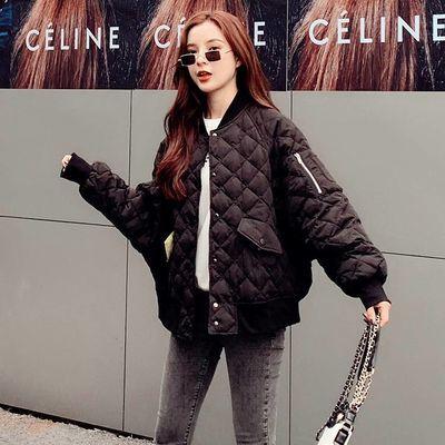 2020新款冬装大码女装胖mm棉服女短款宽松加厚ins港风棉衣外套潮