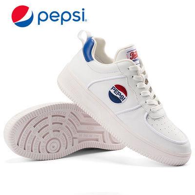 Pepsi/百事休闲鞋男板鞋新款情侣小白鞋运动休闲鞋学生鞋空军一号