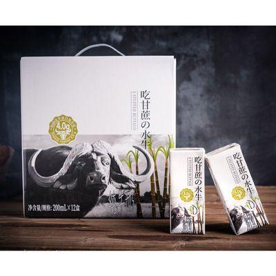 【旗舰店正品】高钙水牛纯奶悠纯见证水牛奶整箱批发礼盒装10盒