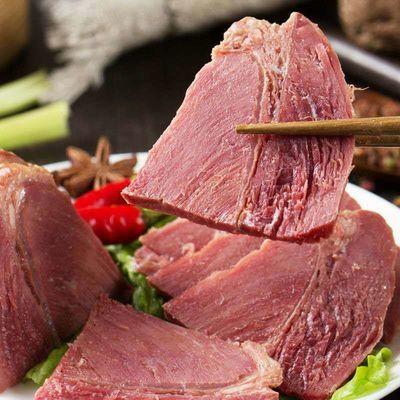 【熟牛肉】内蒙古酱牛肉健身牛腱肉熟食真空五香卤味开袋即食
