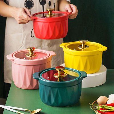 砂锅陶瓷汤煲明火耐高温瓦罐石锅炖锅家用燃气煤气灶专用煲汤沙锅