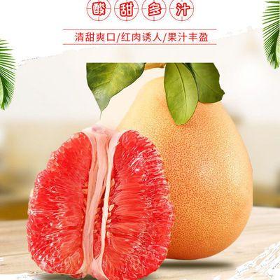 [三红蜜柚]福建漳州三红蜜柚红心柚子1个/2个装当季水果双节回馈