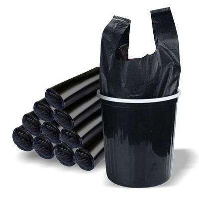 【破损包赔】加厚加大办公室手提式垃圾袋黑色大号家用断点垃圾袋