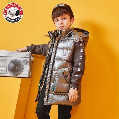 史努比男童秋冬棉马甲外套2020新款儿童外穿背心中大童韩版潮帅气