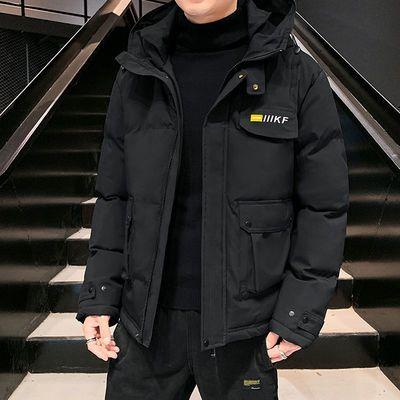 棉衣外套男2020新款秋冬装加厚工装宽松短款韩版潮流ins防寒保暖