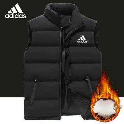 2020冬季马甲男士新款宽松大码男装胖子大坎肩羽绒棉加厚保暖背心