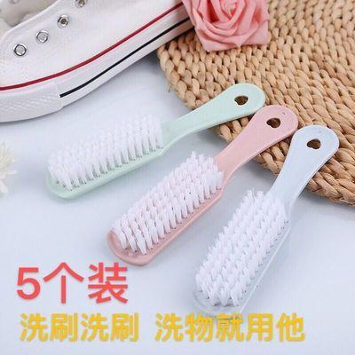 鞋刷子家用硬毛家用清洁多功能洗鞋洗物衣用神奇长柄塑料板刷批发