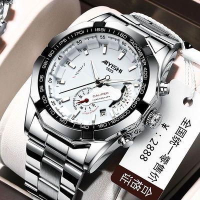瑞士正品全自动机芯手表男士防水夜光日历潮流大表盘腕表非机械表