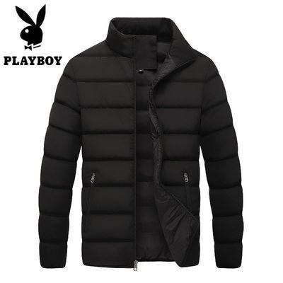 冬季2020新款韩版棉衣棉袄青年短款加厚立领修身潮流外套男装