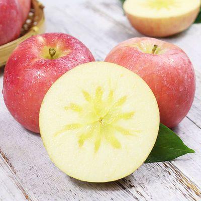 苹果水果新鲜当季水果山西红富士丑苹果脆甜冰糖心整箱3/10斤包邮