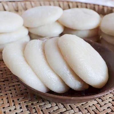 糍粑纯糯米手工无添加原味驴打滚年糕红糖麻糍果一斤6个真空包装