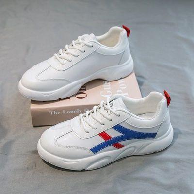 2020新款韩版小白鞋女学生ins运动潮轻薄百搭透气平底休闲鞋