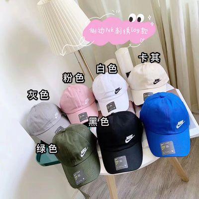 63784/勾勾软顶侧标棒球帽七色可选,时尚潮流休闲耐看男女通用