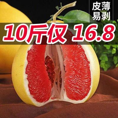 正宗福建平和琯溪红心蜜柚红肉柚子新鲜水果农家当季现货现摘现发