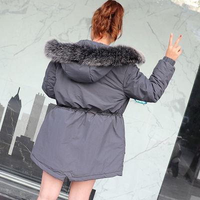 棉衣女2020新款学生面包服韩版宽松潮流长款洋气加厚女潮ins秋冬