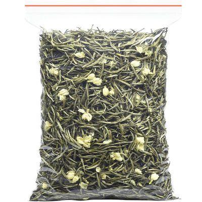 茉莉银针王 八窨一提浓香型白毫银针特级茉莉花茶散装袋装