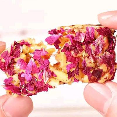 (净重2斤亏本)鲜花沙琪玛鲜花小酥糕点休闲零食140克