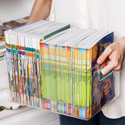 书箱收纳箱装书本盒子储物放书籍的整理绘本牛津树筐神器儿童学生