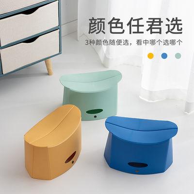 折叠小凳子创意便捷式成人马扎钓鱼凳子塑料椅子户外迷你家用板凳