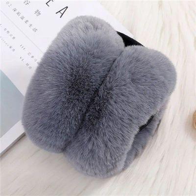 可折叠耳罩冬季保暖男女护耳套耳包韩版可爱学生仿兔毛加厚大毛绒