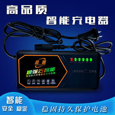 【高端自动断电】高性能电动车充电器电瓶车充电器48V/60V/64/72V