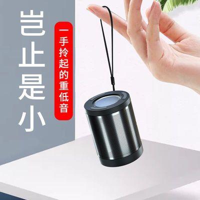 蓝牙音箱迷你智能语音唤醒AI小音响小型家用插卡户外便携式低音炮