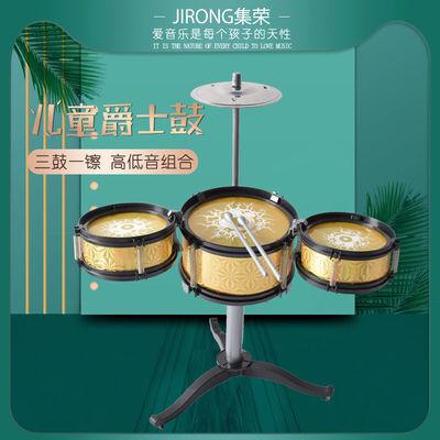 幼儿爵士鼓玩具儿童架子鼓早教打击乐器1-3-6岁男孩女孩兴趣启蒙