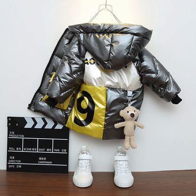 男童棉服洋气加绒冬装2020新款宝宝棉袄加厚外套儿童棉衣派克服潮