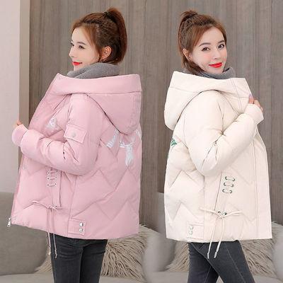 冬季羽绒棉服女短款2020年新款韩版棉袄时尚加厚棉衣宽松大码外套