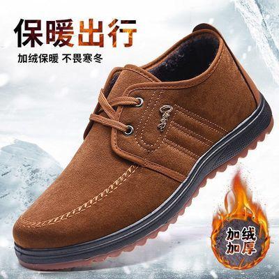 2020秋冬季老北京布鞋男单鞋男士休闲防臭透气中老年爸爸鞋子男鞋