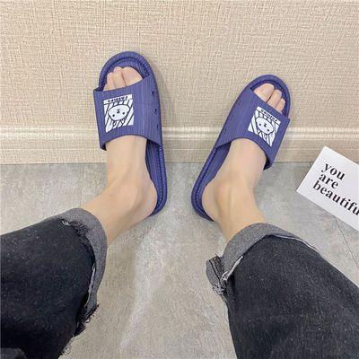 新款夏拖鞋女酒店浴室防滑耐磨防臭托鞋男女士韩版学生寝室凉拖鞋