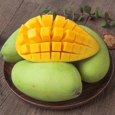 越南进口玉芒甜心芒果3/5/10斤青芒果大青芒果新鲜应季水果金煌芒