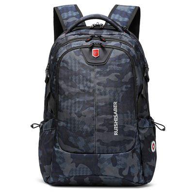 瑞士军刀双肩包男士电脑背包休闲旅行大容量中学生书包女韩版潮流