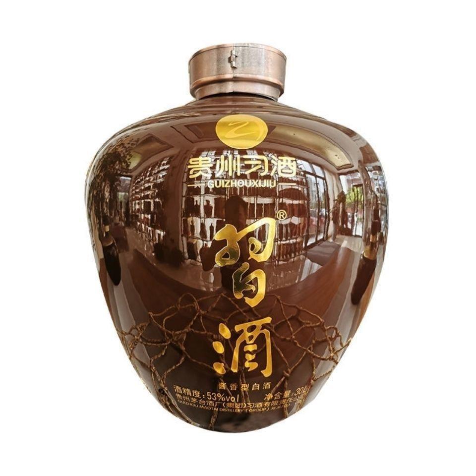 白酒贵州习酒60斤大坛典藏版酱香型53度典藏收藏摆柜佳品习酒30L