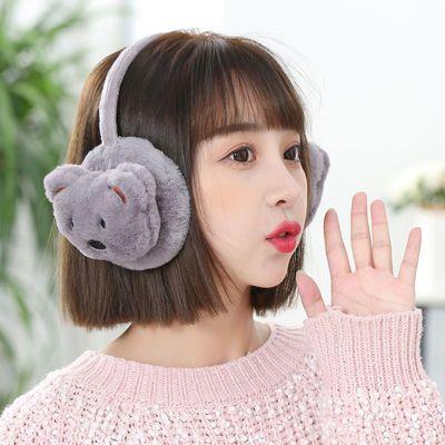 冬季新款加厚手套时尚耳暖防风护脸口罩保暖御寒耳罩耳包耳捂子