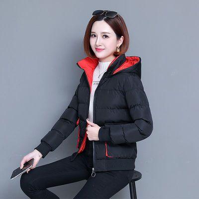羽绒棉服女2020新款冬季韩版短款洋气棉衣服女装冬天妈妈棉袄外套