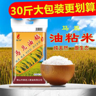 纯正马坝新米低价大米长粒香米增城丝苗皇米批发价油粘米籼米30斤