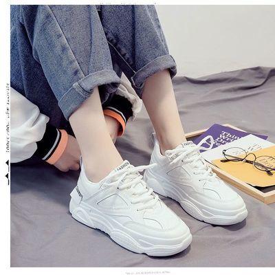 老爹鞋ins潮秋冬款百搭原宿风加绒女鞋子2020新款冬季运动小白鞋
