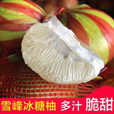 湖南怀化安江雪峰冰糖柚子新鲜水果现摘老树冰糖柚白心柚小苦柚