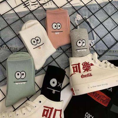 袜子男女可爱日系韩版中筒秋冬袜学院风舒适居家运动批发长袜短袜
