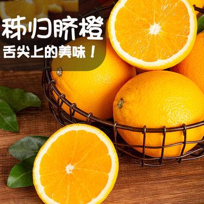 【果园直发】湖北应季高山秭归脐橙新鲜孕妇水果单个60mm起3斤装