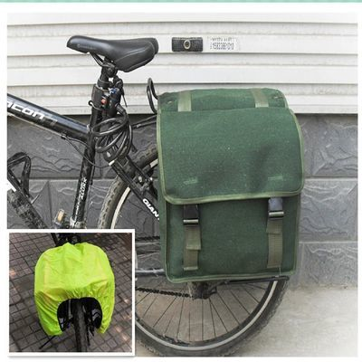 加厚帆布包邮山地车自行车包 尾包后驮包/驼包车架包后架包骑行包