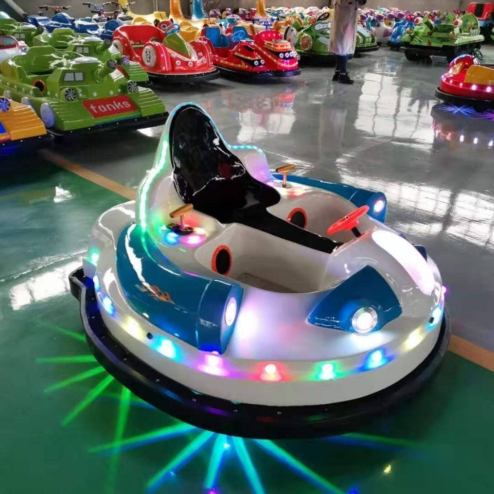 二代太空碰碰车冰陆两用激光对战大型双人玩具车