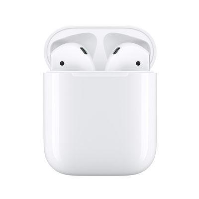 Apple AirPods2代正品带票 蓝牙耳机配有线充电盒【极速发货】