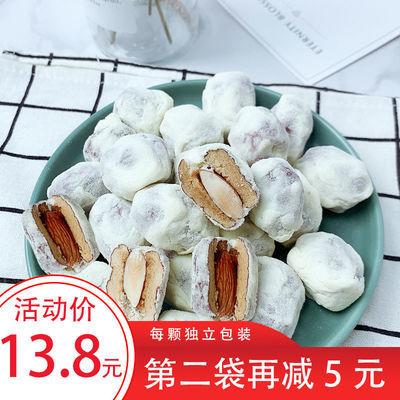 法思觅语奶枣杏仁夹心120g 网红微商零食奶酪奶油巴旦木雪花红枣