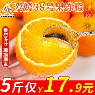 爱媛38号果冻橙子当季新鲜水果柑桔橙子整箱包邮