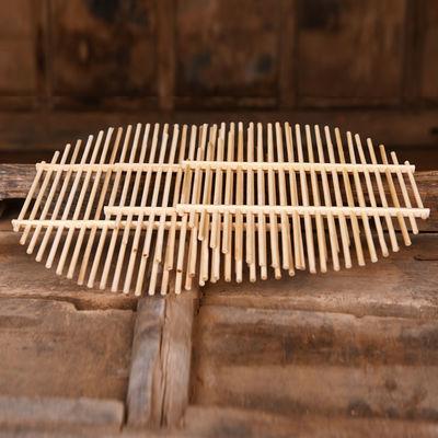 竹篦子蒸片家用蒸馍热馒头圆形蒸锅蒸架蒸屉蒸笼蒸馒头蒸格