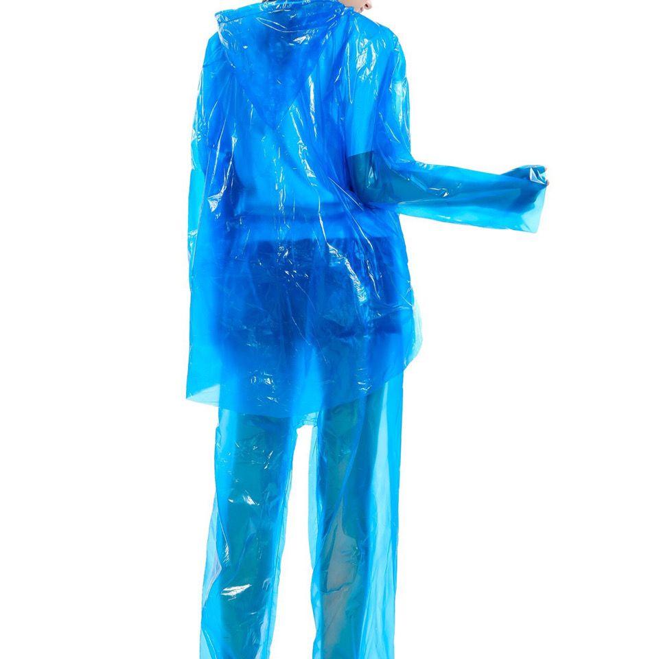 一次性雨衣加厚分体包脚雨裤户外旅游防水户外套装男女通用